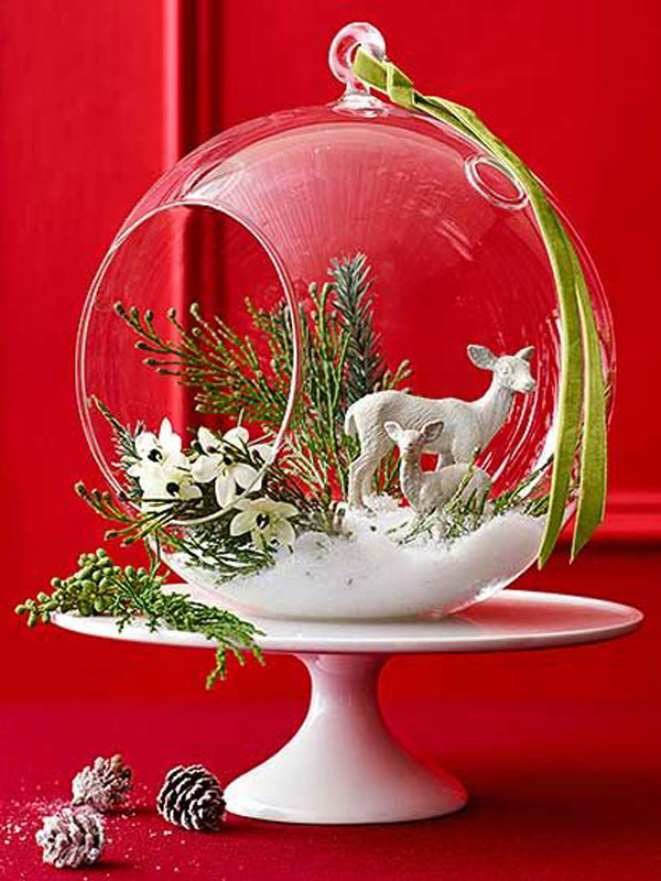 Deer in Glass Orb