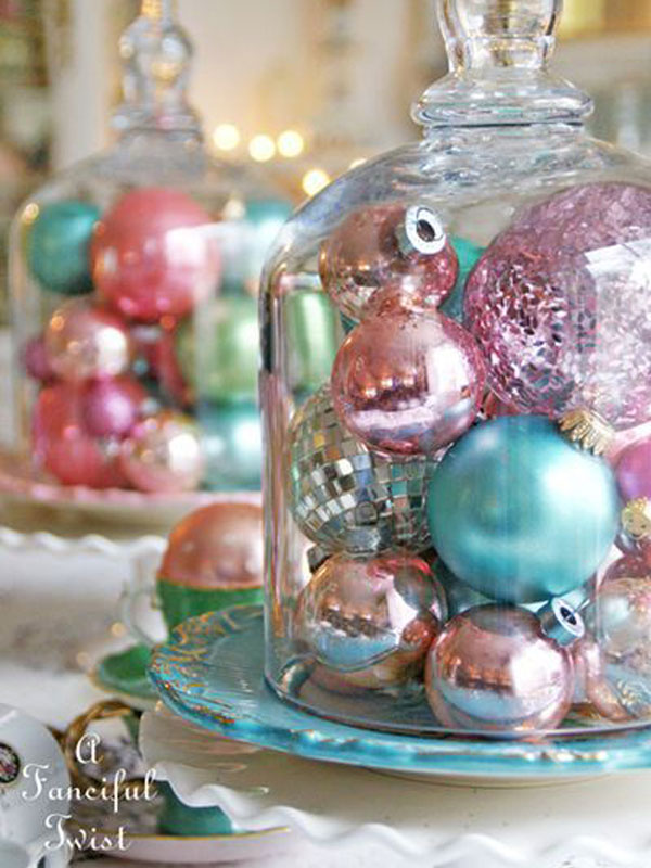 Ornaments in Bell Jar