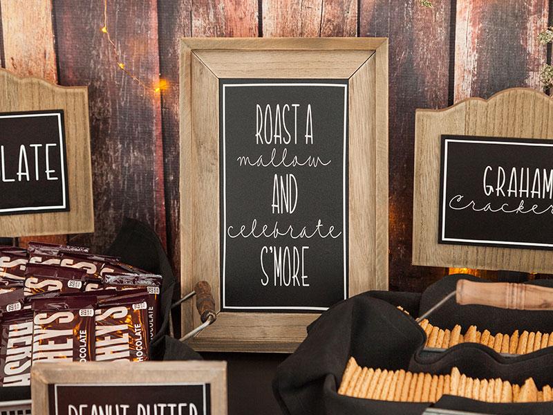 Roast A Mallow Sign