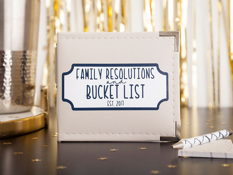 Family Resolutions Book