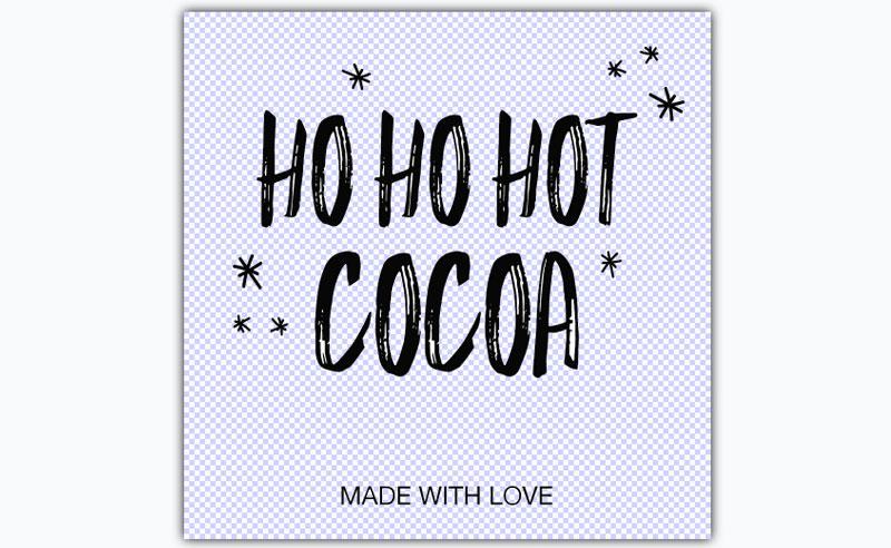 Ho Ho Hot Cocoa Graphic