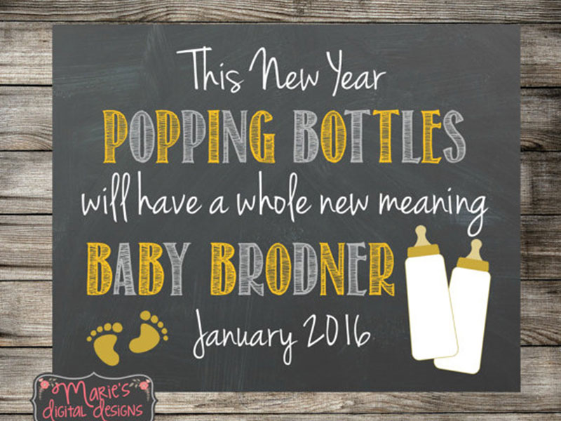 timely birth announcements for new year s babies cricut