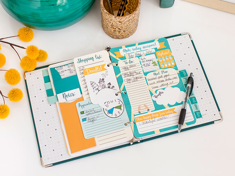 Personalized Planner Binder Inserts