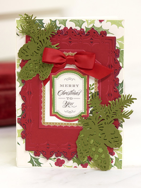 Holiday Flourish Card