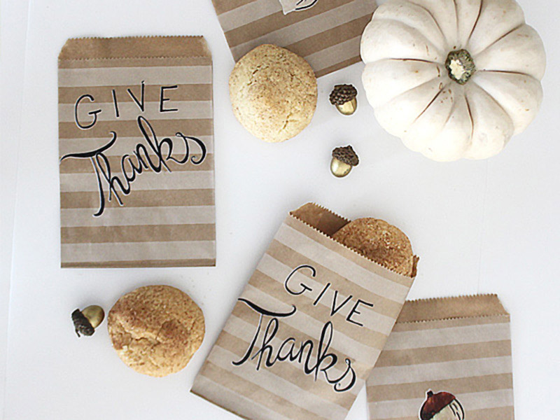 Give Thanks Treat Bags