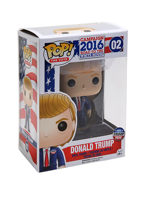 Donald Trump Pop Doll