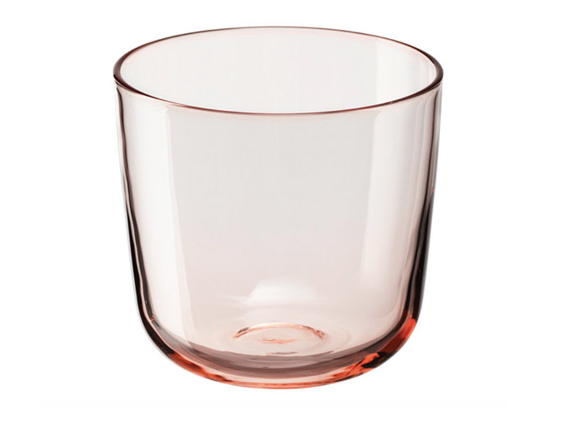 Light Pink Drinking Glass