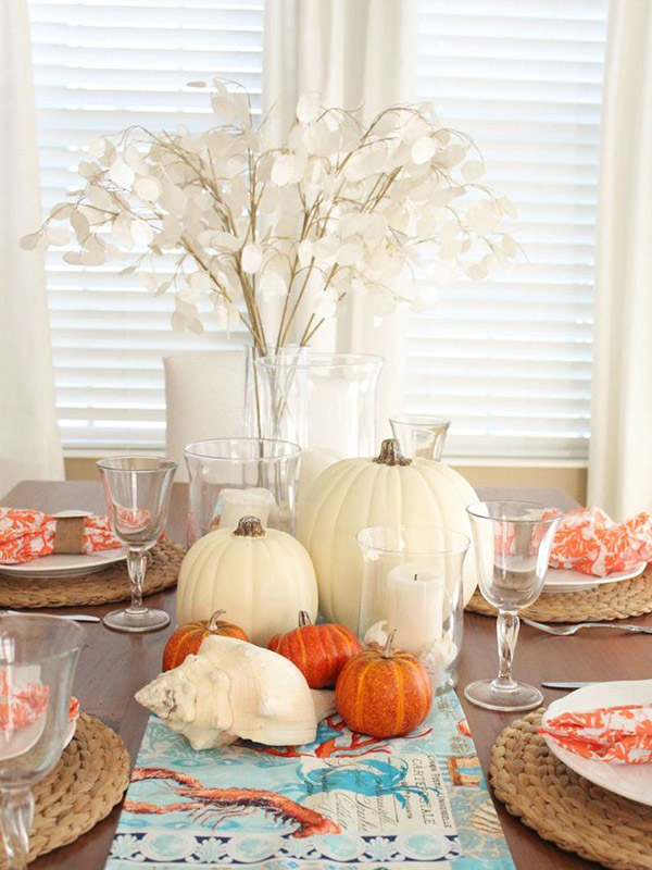 Thanksgiving Beach Decor