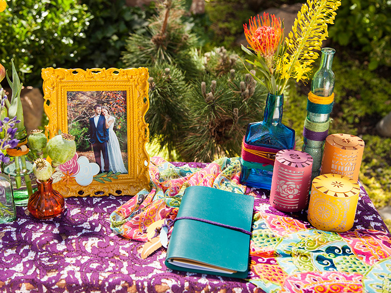 Boho Wedding Book
