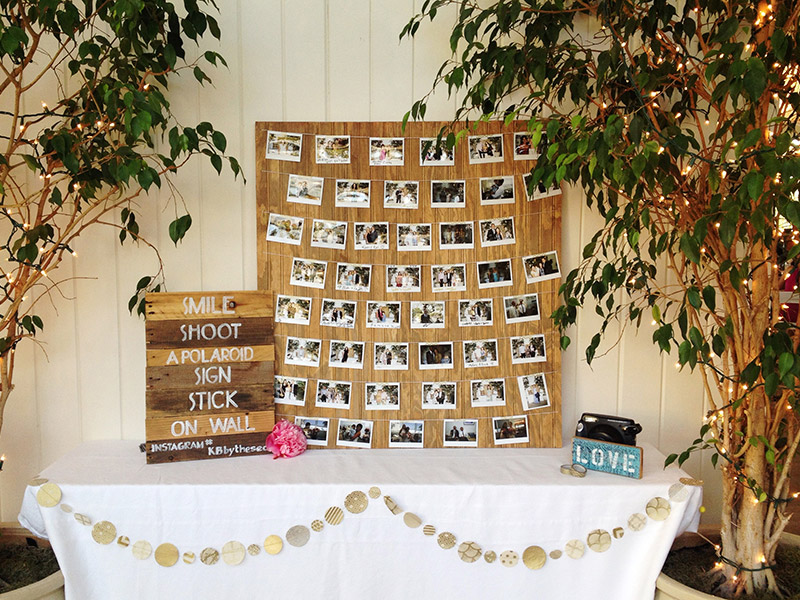 Wedding Sign In Photo Booth
