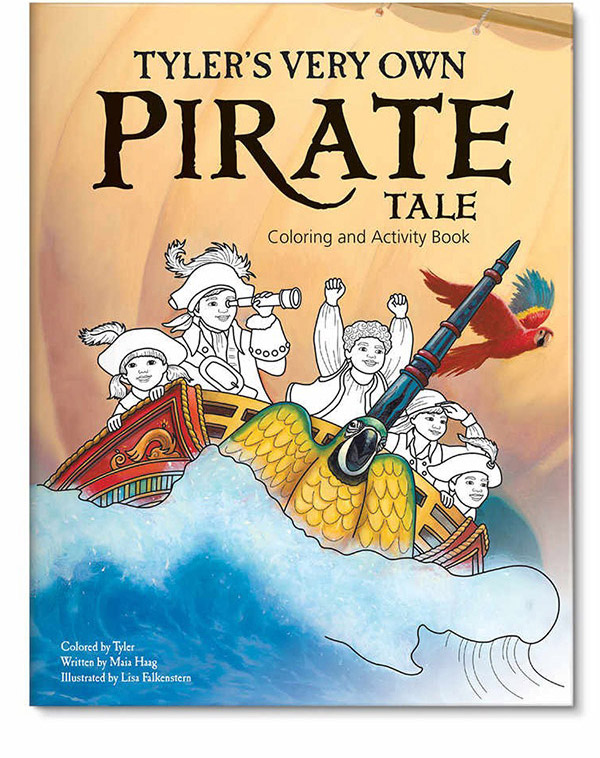Pirate Coloring Book