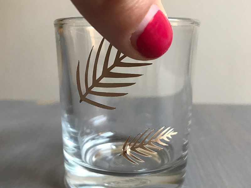 Adhesive Foil Candle