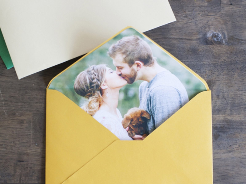 DIY Photo Envelope Liners
