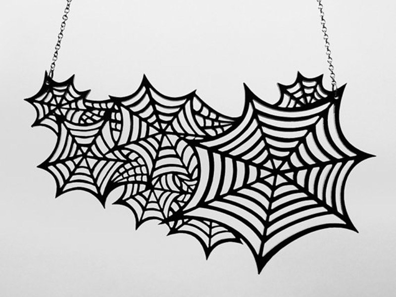 Web Necklace