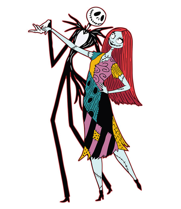 jack sally dancing - Jack From Nightmare Before Christmas