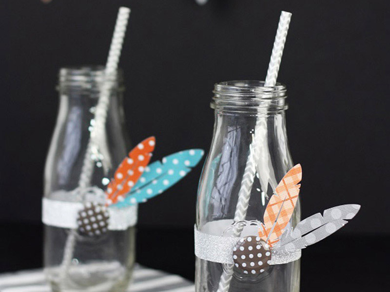 Easy Turkey Milk Bottles
