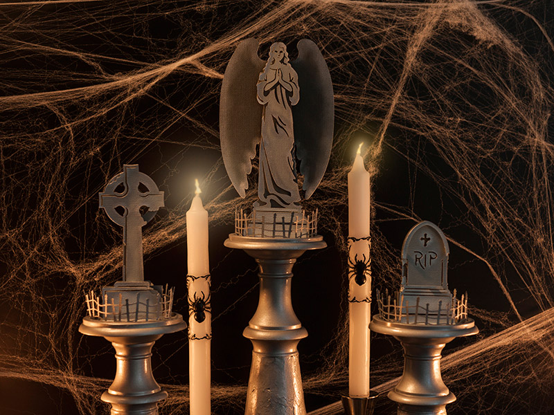 Headstone Candles