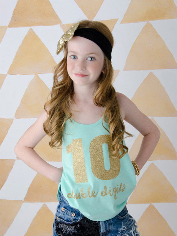 Double Digits Tank Top