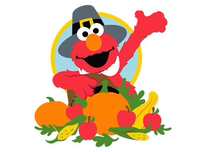 Elmo Thanksgiving