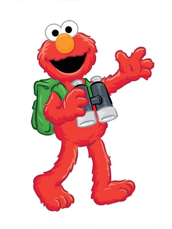 Explore with Elmo.