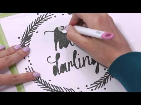 Embedded thumbnail for How to Use Glitter Vinyl and Strong Grip Transfer Tape