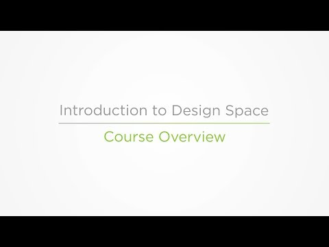 Embedded thumbnail for Course Overview - Introduction to Design Space