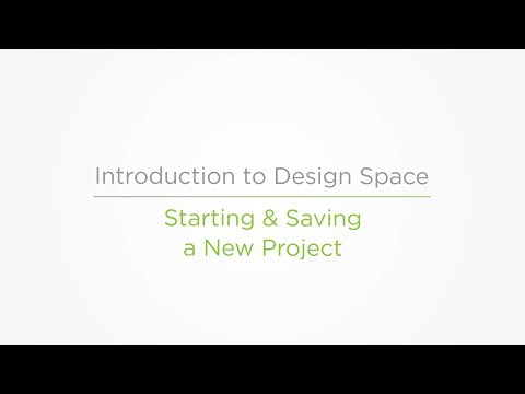 Embedded thumbnail for Starting and Saving a Project - Introduction to Design Space